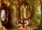 Фантастическая пещера с Одиссеем и Калипсо, 1616