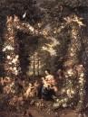 Jan Brueghel, Peter van Avont - Святое семейство, 1623