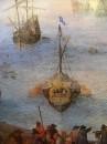 Большой рыбный рынок, деталь  корабль слева, 1603