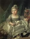 Портрет Луи Филиппа Жозефа, герцога Монпасье, ребёнком, около 1750