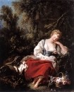 Спящая пастушка, 1763