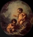 Христос и Иоанн Креститель, 1758