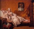 Портрет Мари-Жанне Бюзо, жены художника, 1743