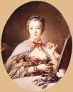 Маркиза де Помпадур за Туалетным столиком, 1758