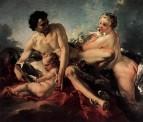 Обучение Купидона, 1742