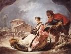 Зима, 1735