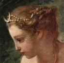 Купание Дианы. Деталь - голова Дианы, 1742
