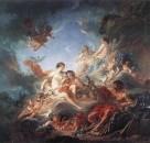 Вулкан, вручающий Венере оружие для Энея, 1757