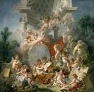 Гении искусств, 1761