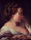Голова женщины, около 1750