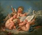 Аллегория Музыки, 1752