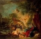 Бегство в Египет, 1757