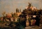 Таверна в древнем Риме. 1866