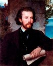 Портрет певца Карла Валленреитера. 1861