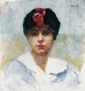 1916 vers Portrait de Lucienne Dupuy de Frenelle
