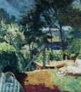 Pierre Bonnard 1923 La Terrasse a Vernonnet