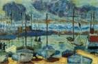 1927 Le port de Cannes