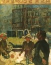 1912 La Place Clichy detal