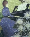 1890 vers Andree Bonnard au piano