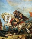 Attila and his Hordes Overrun Italy and the Arts