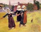 Breton Girls Dancing