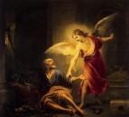 Ангел спасает св. Петра от тюрьмы, 1667