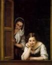 Две женщины в окне, 1665