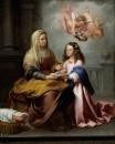 Святая Анна и Мария (Обучение Марии)