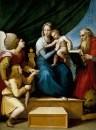 Мадонна с младенцем между архангелом Рафаилом с Товией и св.Иеронимом
