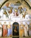Фреска Св.Троица со святыми