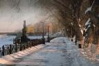 Январский вечер в Твери