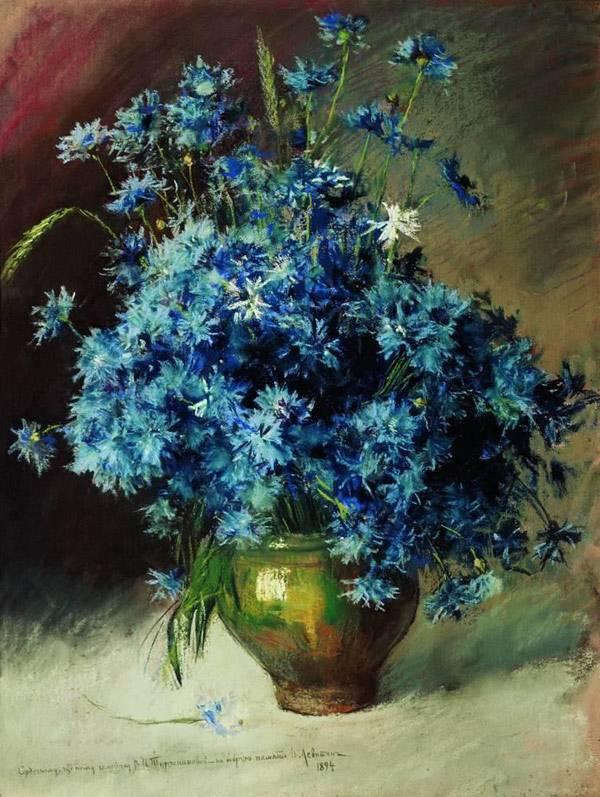 Натюрморты Левитана Васильки: www.artcontext.info/pictures-of-great-artists/55-2010-12-14-08-01...