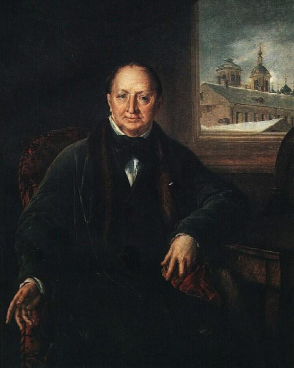 Портрет М.Ф. Протасьева