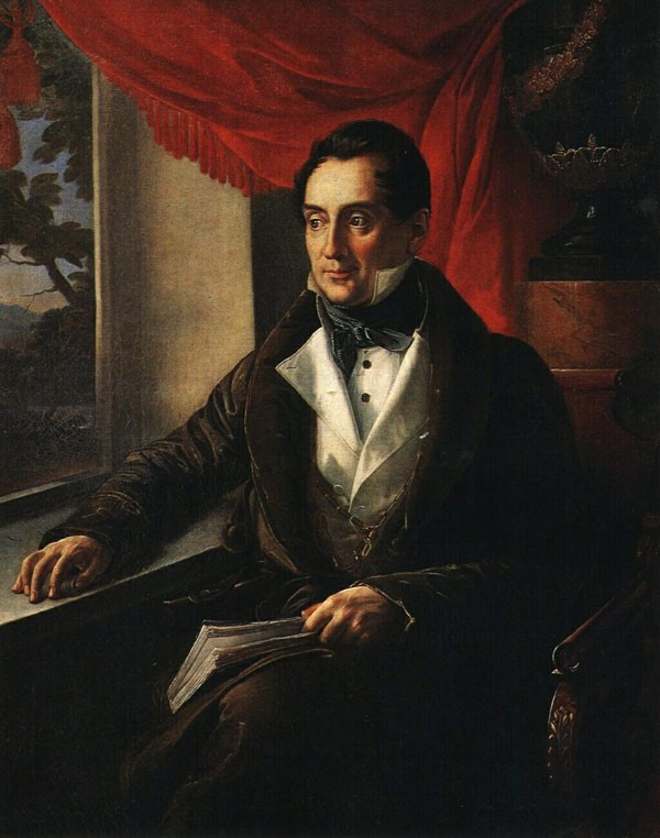 Портрет П.Н. Зубова