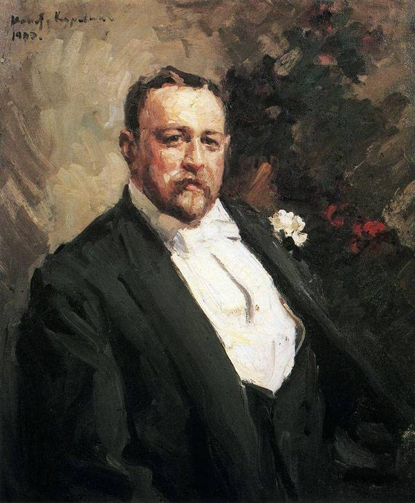 портрет Константин Коровин