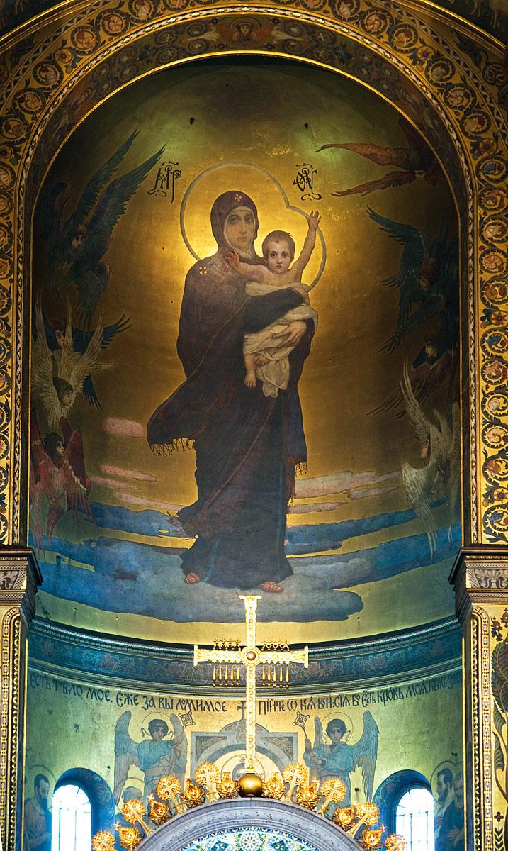 Богоматерь во Владимирском соборе