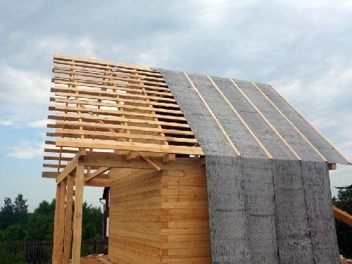 Перекрытие крыши рубероидом своими руками 54
