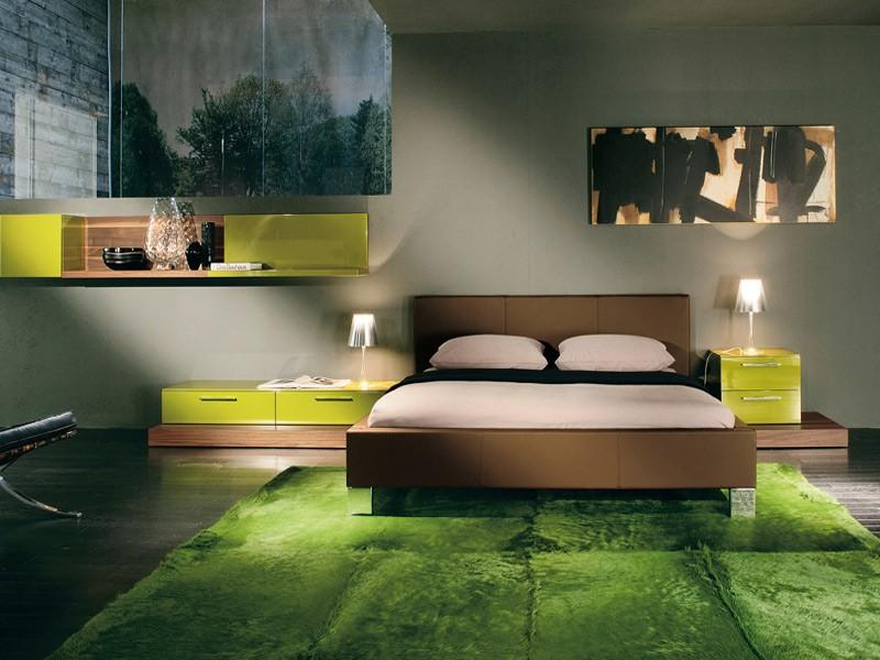 Зеленые ковры фото