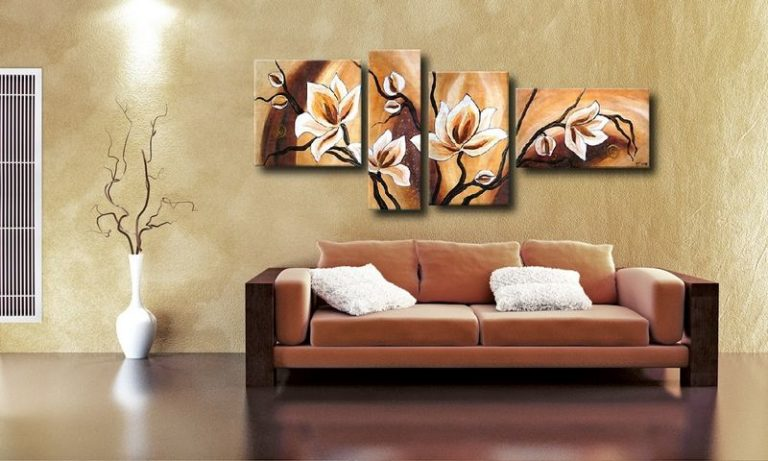 Картины рисованные своими руками для интерьера фото