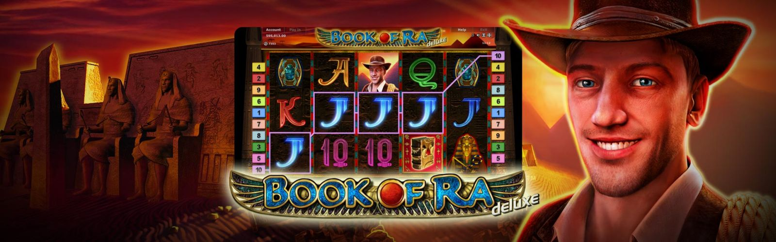 Book of ra online slot games