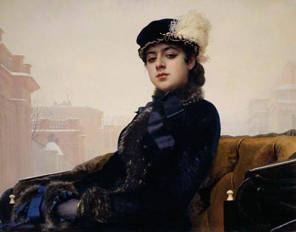 Неизвестная. 1883