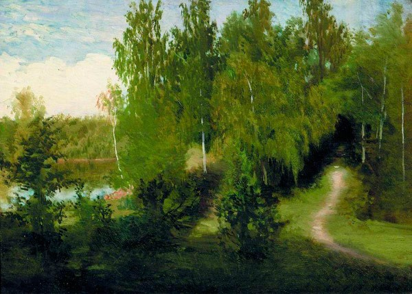 Лесная тропинка. Начало 1870-х