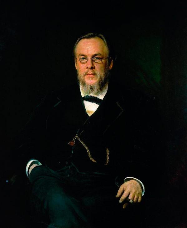 Портрет доктора Сергея Петровича Боткина. 1880