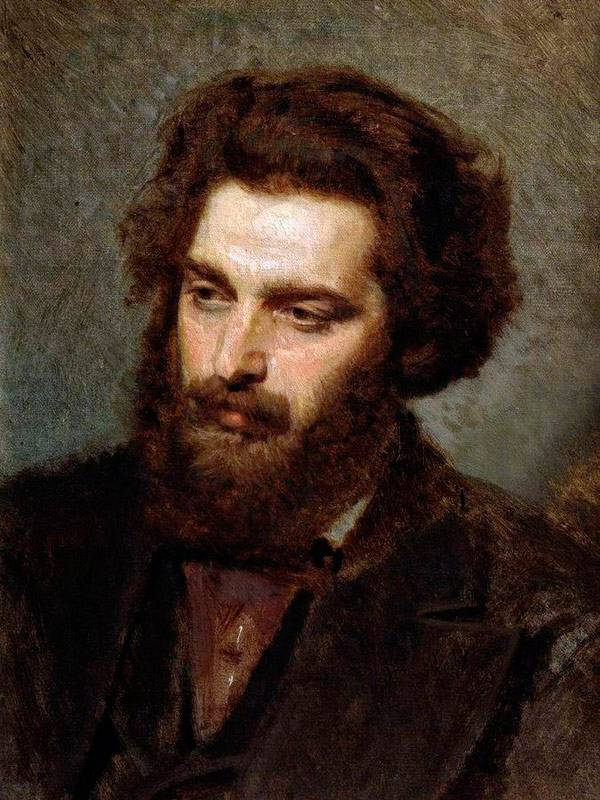 Портрет А.И.Куинджи. 1872