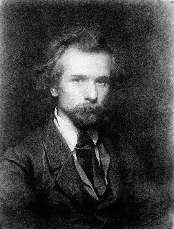 Портрет художника Павла Петровича Чистякова. 1860