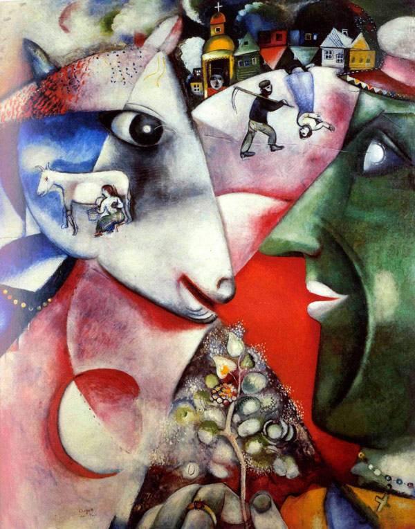 К 125-летие со дня рождения Марка Захаровича Шагала.