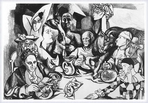 Пикассо и его персонажи
