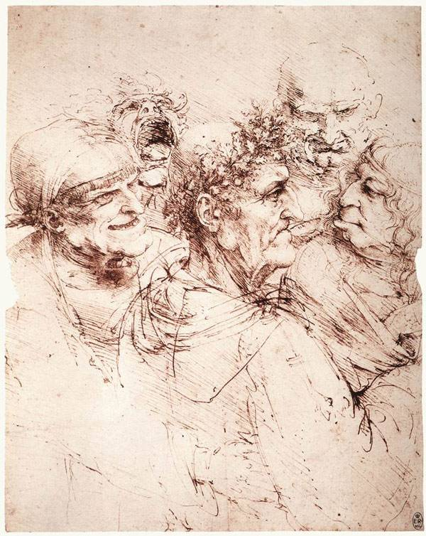 Леонардо да Винчи рисунки