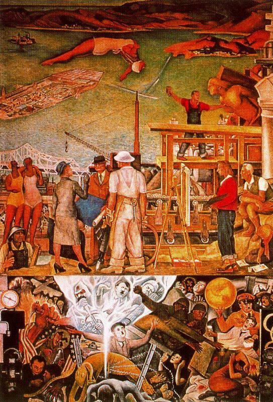 Картины Диего Риверы