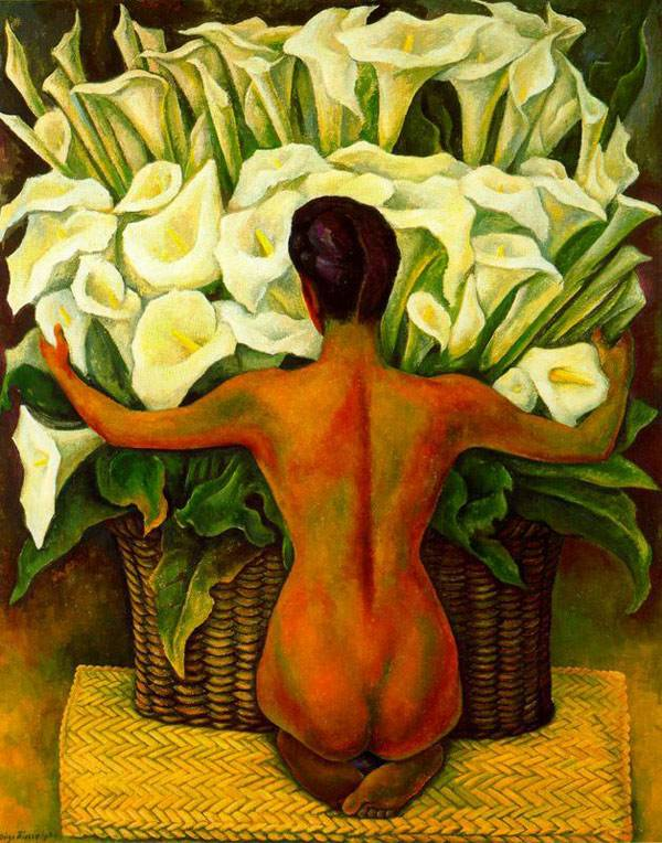 Painting of Diego Rivera